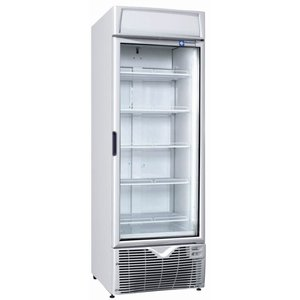 Diamond Freezer display case - 67x65x (h) 198cm - 400 Liter