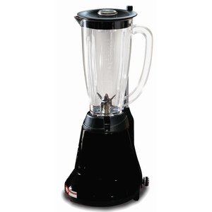 Diamond Professional Bar Blender 1.5 liters - BLACK