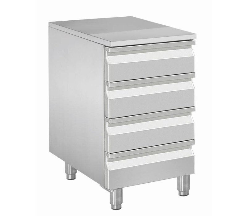 Diamond Cabinet for dough balls - 4 drawers