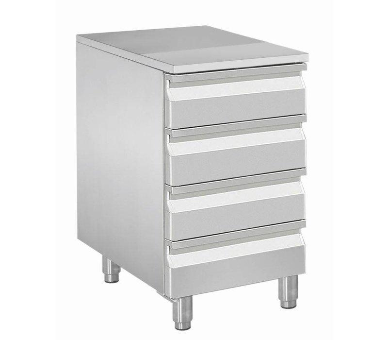 Diamond Kabinett für Teig Kugeln - 4 Schubladen