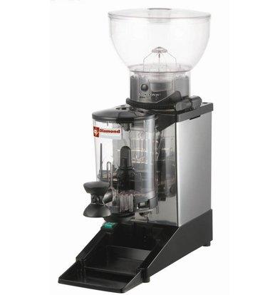 Diamond Kaffeemühle mit Dosierer | Inhalt 1 kg | 0,3kW 180x310x (H) 560mm