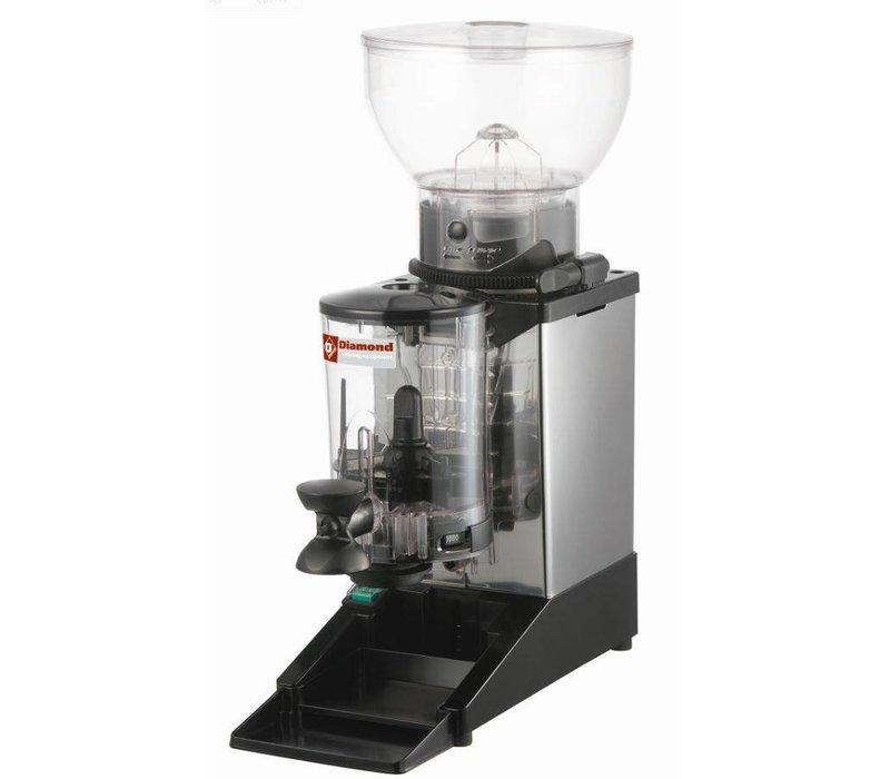 Diamond Coffee grinder with doser | Contents 1 kg | 0,3kW 180x310x (H) 560mm