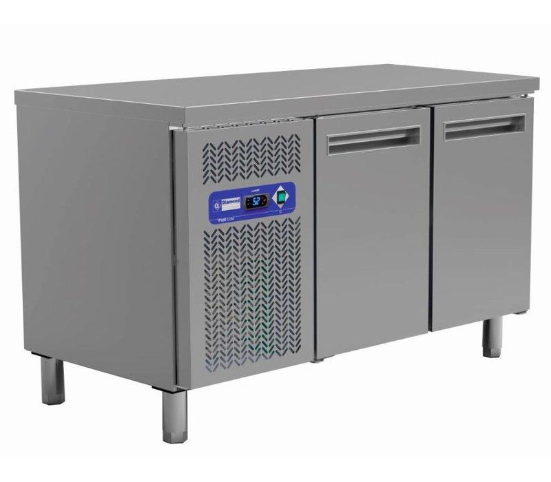 Diamond Cool Workbench - 2 Doors - 135x70x (h) 88 / 90cm