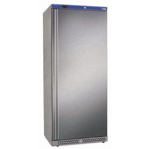 Diamond Fridge - Jumbo - 600 Liter - Stainless Steel - 77x69x (h) 189cm