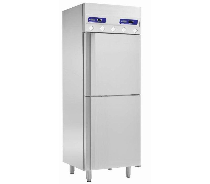 Diamond Refrigerator and freezer - 2 x 350Ltr - 75x80x (h) 204cm