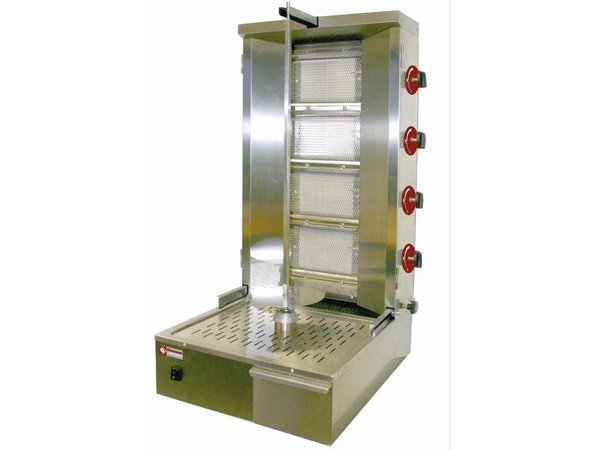 Diamond Kebab spit grill gas 55 kg