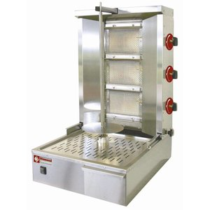 Diamond Kebab spit grill gas 35 kg
