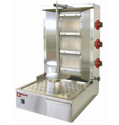 Diamond Kebab Spieß Grill Gas 35 kg