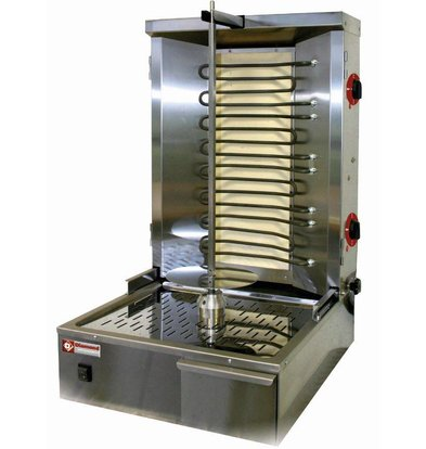 Diamond Kebab spit grill electric 35 kg