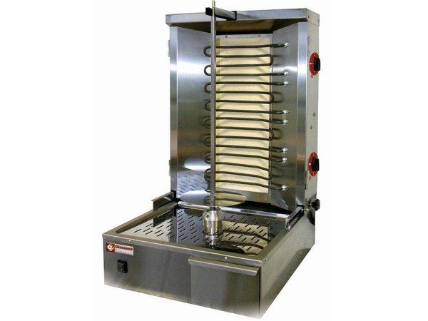 Diamond Kebab spit grill elektrisch 35 kg