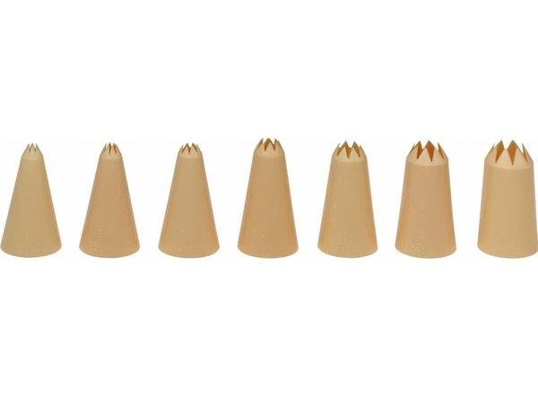 Hendi Nozzles | Set 7 | Nylon Cartel | Ø8,10,12,14,16,18,20mm
