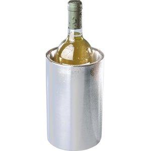 Hendi Doppelwandige Edelstahl-Weinkühler - Verwendbar ohne Eiswürfel - Ø12cm x 20 (H) cm