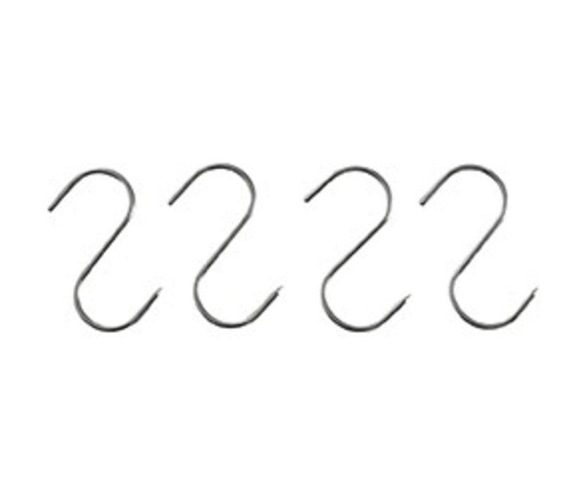 Hendi Fleischerhaken aus Edelstahl | 4 in Blister | 110x5mm