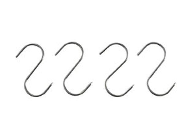 Hendi Fleischerhaken aus Edelstahl | 130x5mm | 4 in Blister