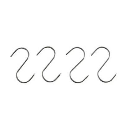 Hendi Fleischerhaken aus Edelstahl | 150x6mm | 4 in Blister