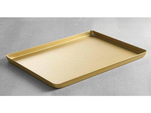 Hendi Tray Aluminium   Gold   400x300x (H) 20 mm
