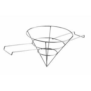 Hendi Vetfilterhouder | Edelstahl | Ø250x (H) 200 mm