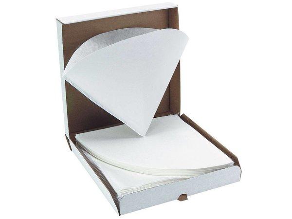 Hendi Vetfilter | Doos 50 stuks | Ø245x(H)250mm