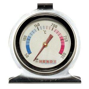 Hendi Oventhermometer 60x70 mm - RVS Behuizing - 50 tot 300°C - Ø60x(H)70mm
