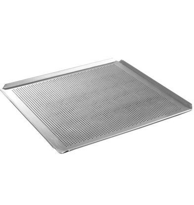 Hendi Tray Aluminium | GN 2/3 | Geperforeerd | 344x325x(H)10mm