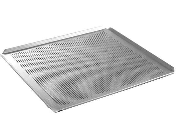 Hendi Tray Aluminium | GN 2/3 | Perforated | 344x325x (H) 10mm