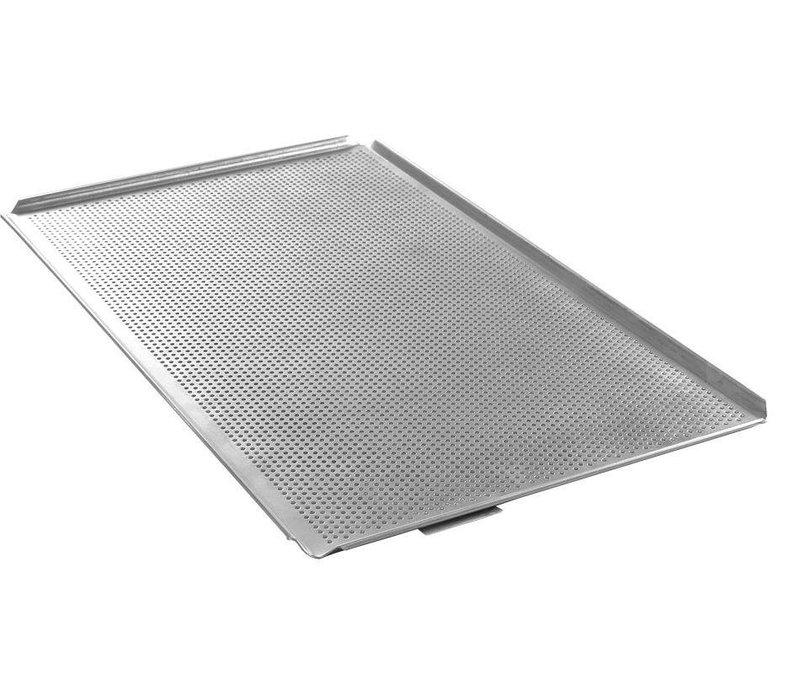 Hendi Tray Aluminium | GN 1/1 | Geperforeerd | 530x325x(H)10mm