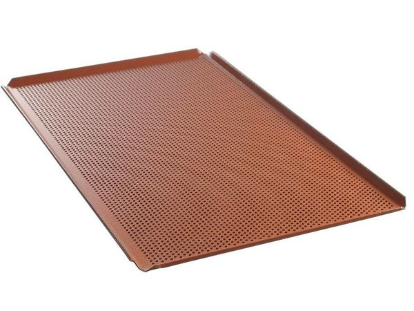 Hendi Aluminium tray GN 1/1 | Perforated Silicone Coating | 530x325x (H) 10mm