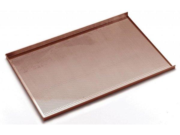 Hendi Bakker Norm Griddle   Aluminium   Gelocht + Non-stick   600x400mm