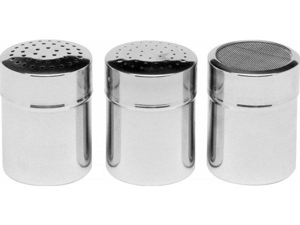 Hendi Dredger with stainless steel mesh | Poederstrooier | Ø55x (H) 75mm