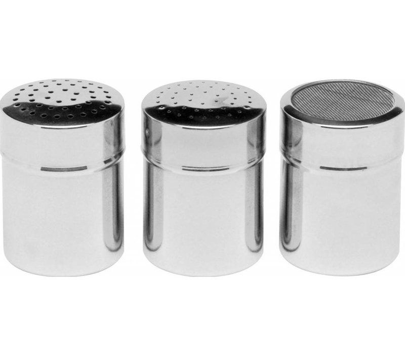 Hendi Bagger mit Edelstahlgewebe | Poederstrooier | Ø55x (H) 75 mm