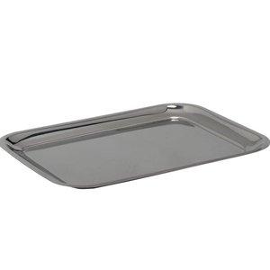 Hendi Serveerblaadje | Stahl, Chrom | 205x155 mm