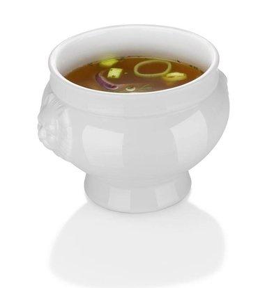Hendi Soup bowl - 125 ml - Lionhead - 90x60 mm - White - Porcelain