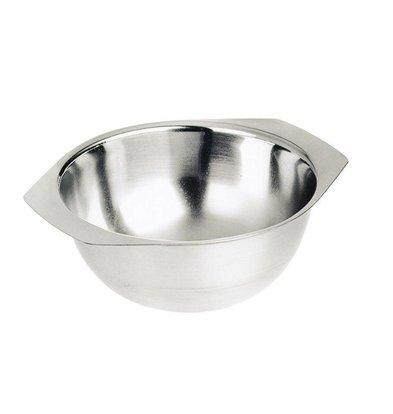Hendi Suppenschüssel aus Edelstahl mit Liporen - 0,35 Liter - 120x (H) 50 mm
