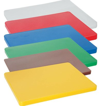 Hendi Cutting boards HACCP - 600x400x20mm - Choose from 6 colors