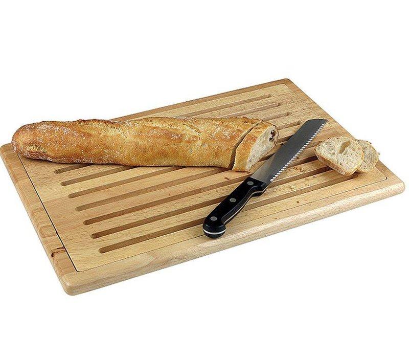 Hendi Cutting board with uitn.raster wood - non-slip feet +4 475x322 mm