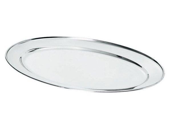 Hendi Fleisch-Teller aus Edelstahl | 350x220mm