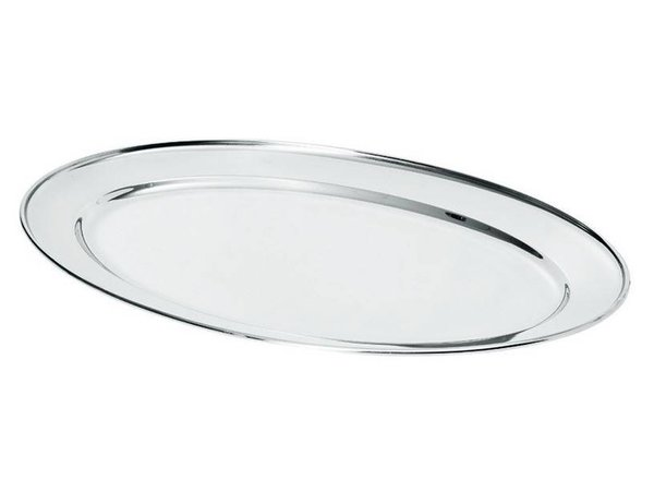 Hendi Meat Dish Stainless steel | 350x220mm