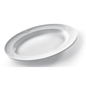 Hendi Scale - Oval - Saturn - 290x200x30 mm - White - Porcelain