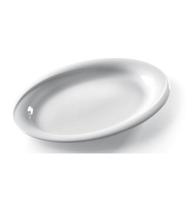 Hendi Scale - Oval - Exclusiv - 290x230x30 mm - White - Porcelain
