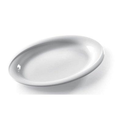 Hendi Skalieren oval Exclusiv - 340x270x35 mm - Weiß - Porzellan