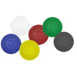 Hendi Consumptiemunten Groen - ABS Kaart 100 - 2mm dik
