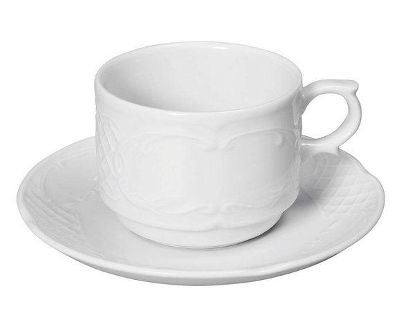 Hendi Cup 120 ml - 65x85x55 mm - Flora - White - Porcelain