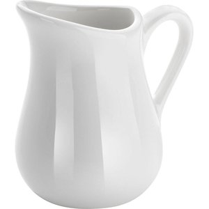 Hendi 80 ml milk jug - Set 2 - White - Porcelain