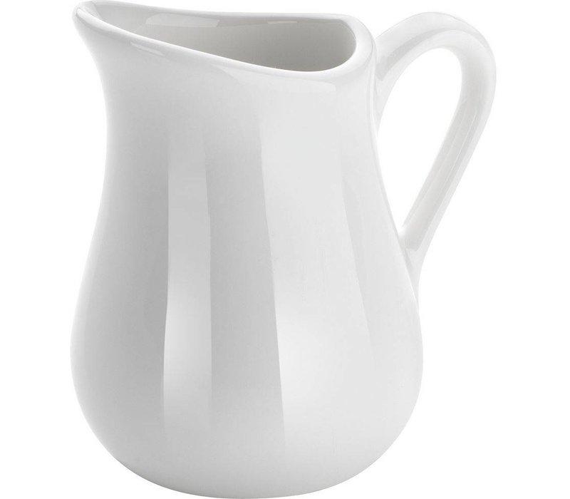 Hendi 80 ml milk jug - Set 2 - White - Porcelain