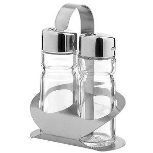 Hendi Menage 2 Stück Luxus   Pfeffer / Salz   85x55x (H) 115mm