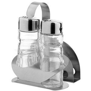 Hendi Menage 3 parts | Luxury | Pepper Salt Napkins | 85x75x (H) 115mm