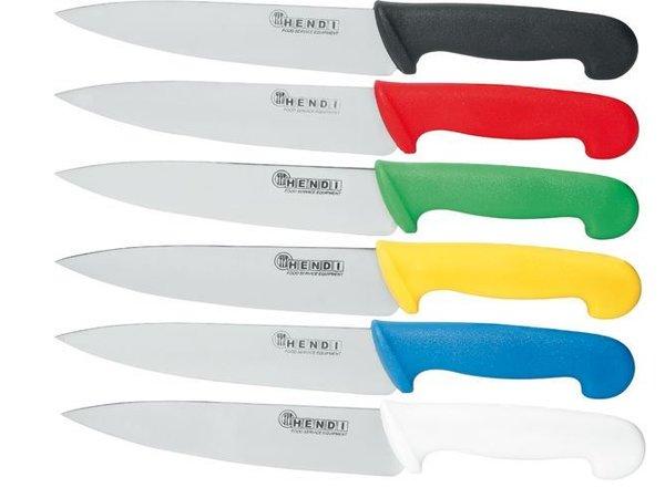 Hendi Chef's knife 180 mm - black PP handle