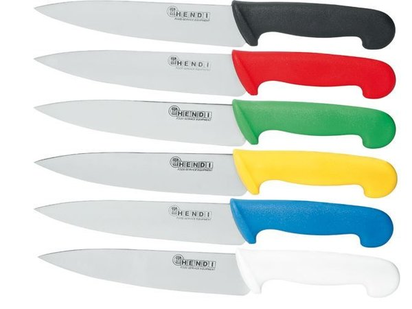 Hendi Chef's knife 240 mm - yellow PP handle