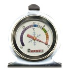 Hendi Refrigerator Thermometer 60x70 mm - Stainless steel housing - 50 to 25 degrees - Ø60x (H) 70 mm