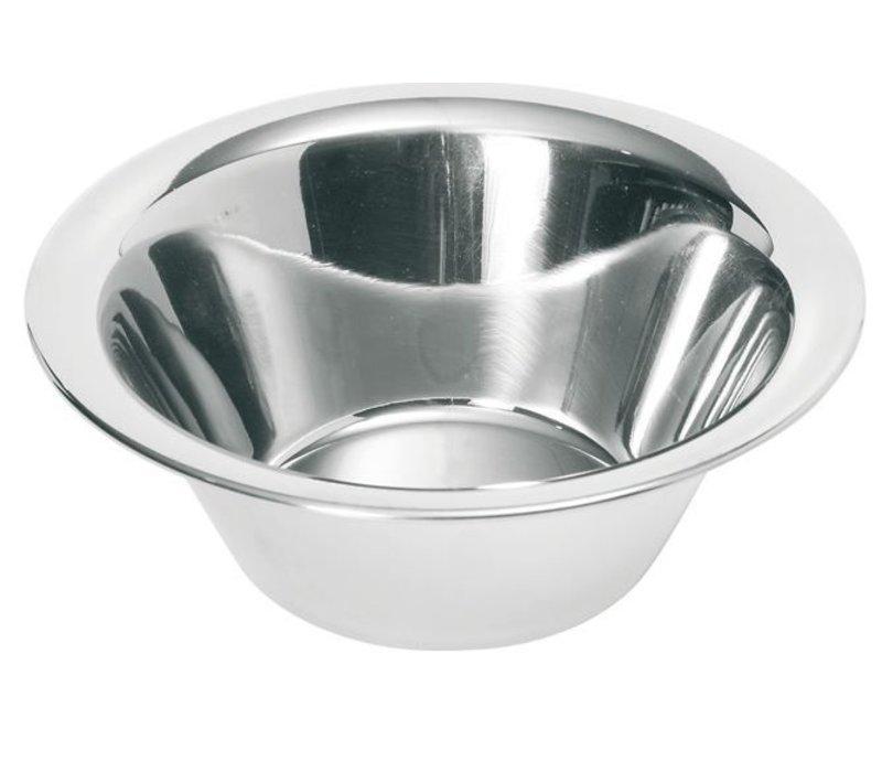 Hendi Keukenschaal RVS - 1,3 Liter - Ø205x(H)70mm